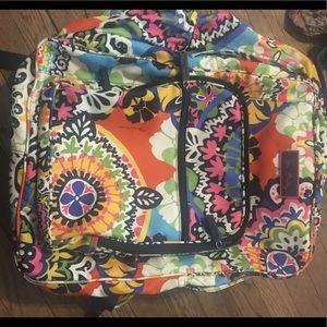 Vera Bradley large bookbag